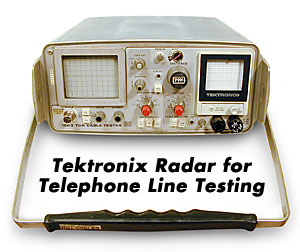 radar for telephone line testing Technical Surveillance Counter Measures (TSCM) bug sweeping bugsweeps