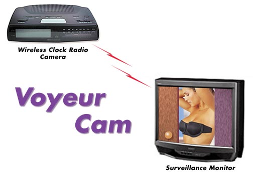 Eavesdropping threats voyeur cam Advanced Electronic Security Company - Bug Sweeps.com